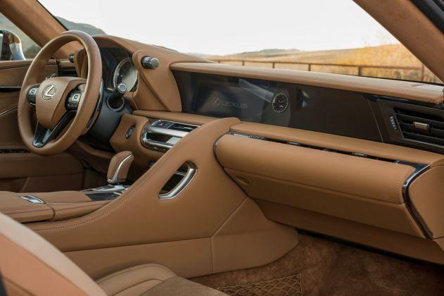 Kupe Lexus LC 500