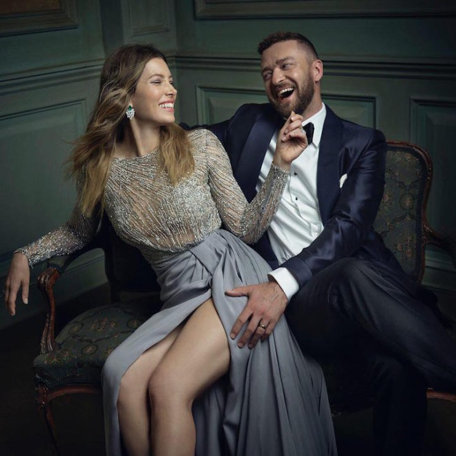 Jessica Biel in Justin Timberlake