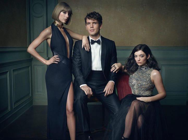 Taylor Swift, Austin Swift, in Lorde