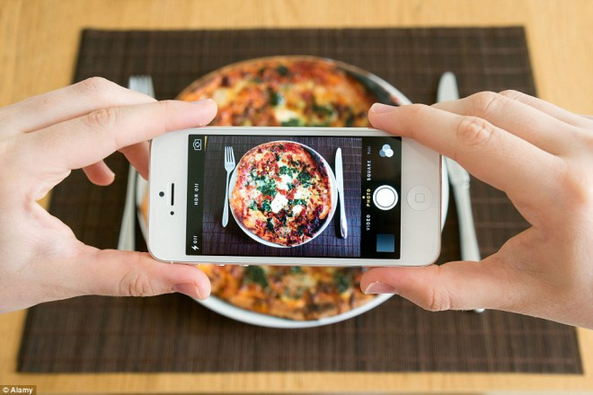 Pica je kraljica hrane na Instagramu.