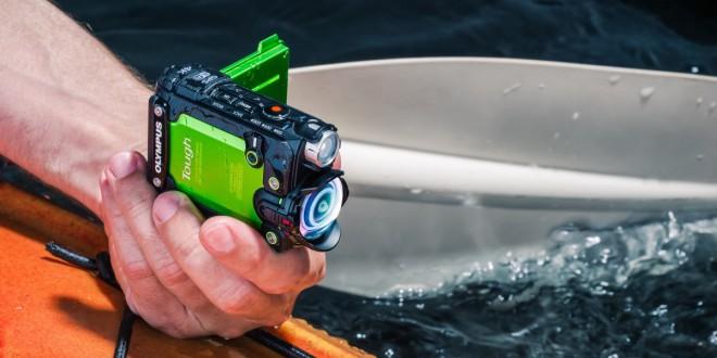 Športna kamera Olympus Tough TG-Tracker je imuna na poškodbe.