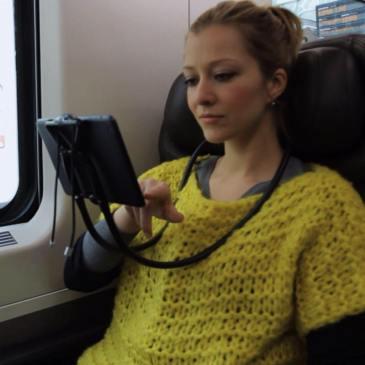 Sospendo - fleksibilno držalo za mobilne naprave
