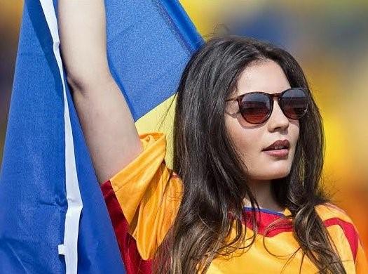 Navijačica Romunije