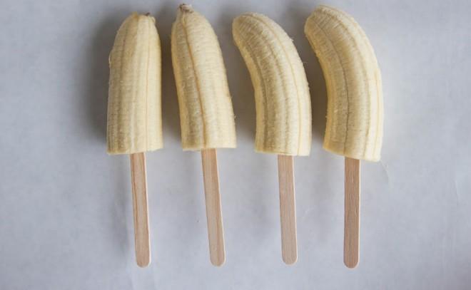 Bananine lučke so pripravljene 1, 2, 3.