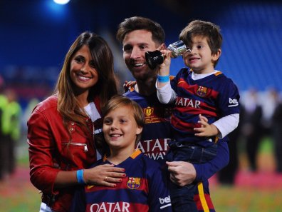 Družina je temelj njegovega uspeha.