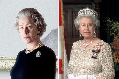 Hellen Mirren kot kraljica Elizabeta II.