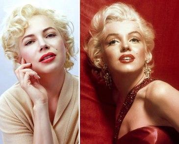 Michelle Williams kot Marilyn Monroe