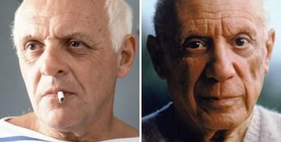 Anthony Hopkins kot Pablo Picasso