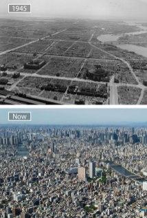 Tokio (Japonska) – leta 1945 in danes