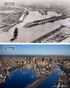 Melbourne (Avstralija) – leta 1920 in danes