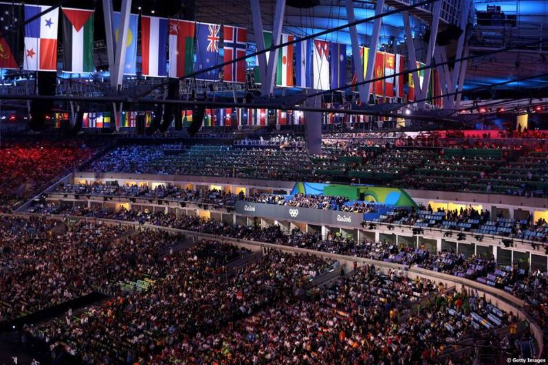 Rio 2016: otvoritvena slovesnost
