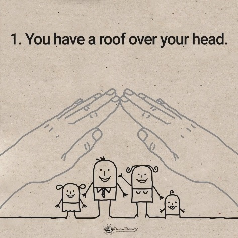 Imate streho nad glavo.