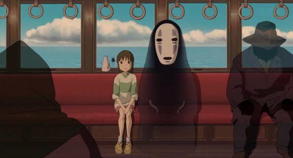 4. mesto: Spirited Away (2001)