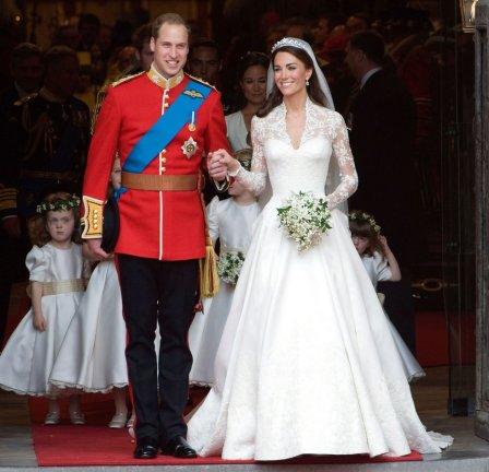 Prince William in Kate Middleton leta 2011