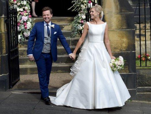 Televizijec Declan Donnelly na poroki leta 2015