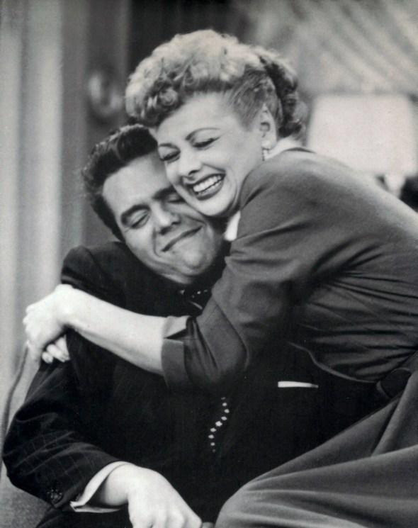 Lucy in Ricky iz serije I Love Lucy