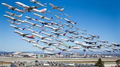 Letališče v Los Angeles, Kalifornija (ZDA)