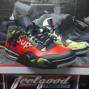 Top personalizirane superge: Supreme x BAPE Nike Air Jordans