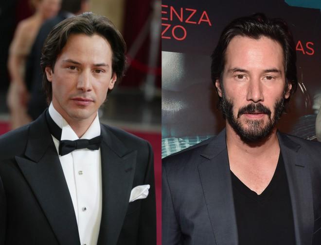 Uganete, koliko je star Keanu Reeves? Razlika med tema fotografijama je več kot 20 let!