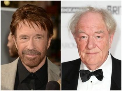 Chuck Norris in Michael Gambon, 79 let