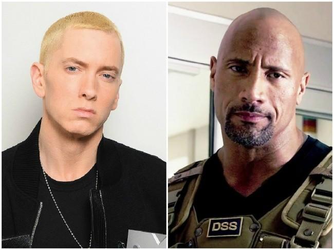 Eminem in Dwayne Johnson, 47 let
