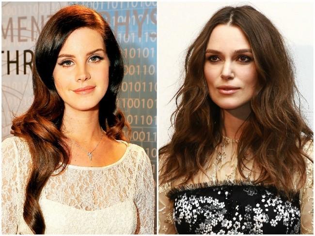 Lana Del Rey in Keira Knightley, 34 let