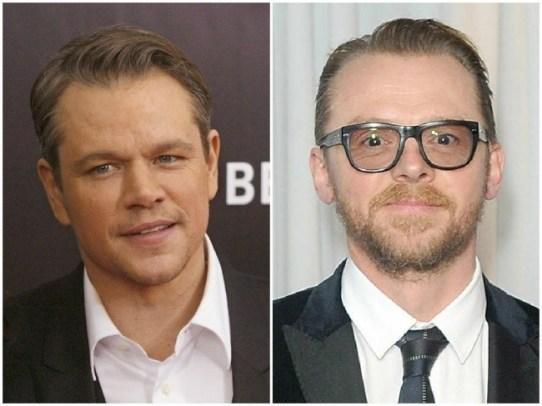 Matt Damon in Simon Pegg, 49 let