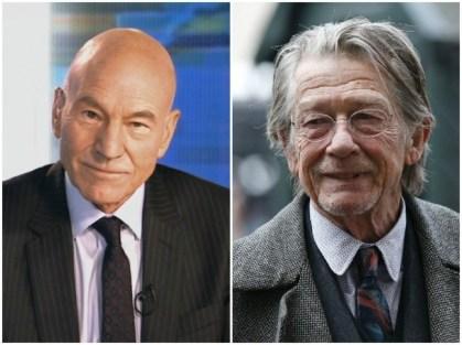 Patrick Stewart in John Hurt, 79 let