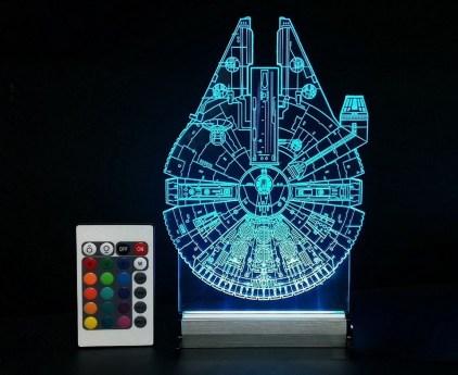 3D LED-luči Star Wars