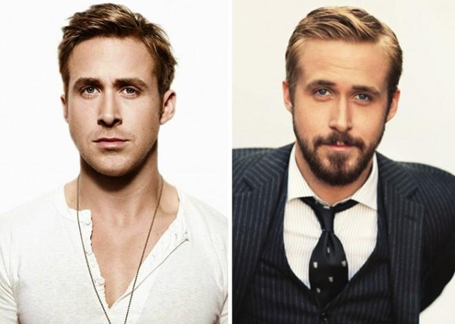 Ti je bolj všeč košati ali obriti Ryan Gosling?