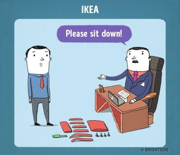 Razgovor za službo pri Ikei