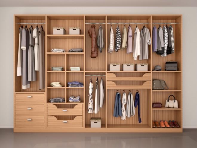 Obleke skrbno sproti zlagajte v omaro (Foto: Shutterstock)