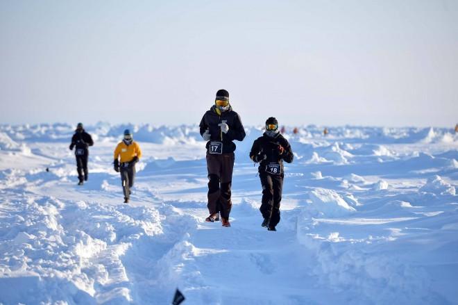 Na Severnem tečaju lahko tečete maraton