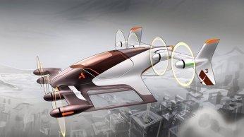 Airbusov leteči avtomobil