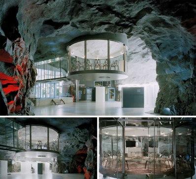 Banhhof – nekdanje jedrsko zaklonišče, Stockholm (Švedska)
