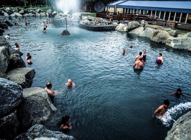 The Chena Hot Springs