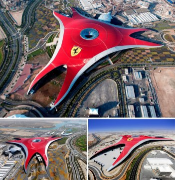 Ferrari World, Abu Dabi (Združeni arabski emirati)