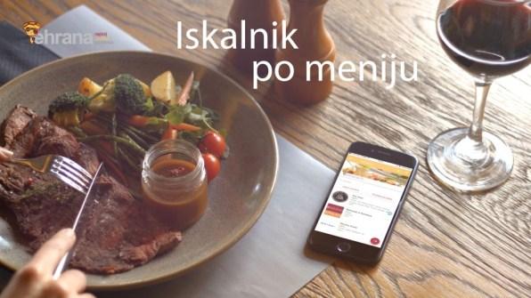 Mobilna aplikacija Ehrana.si