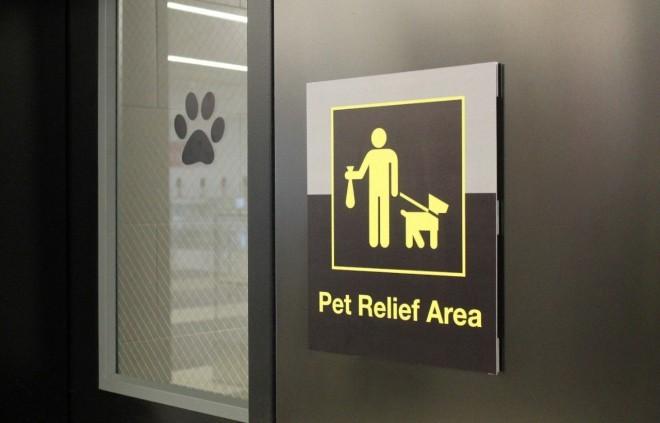 Živali so dobile tudi svoje stranišče.
