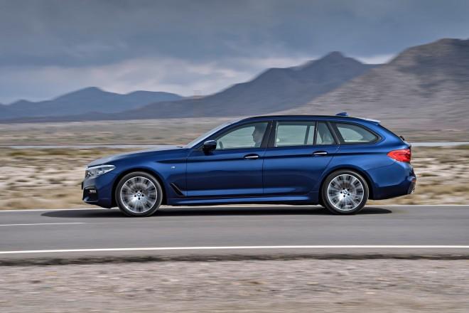 Nova karavanska BMW serija 5 Touring bo na voljo to poletje.