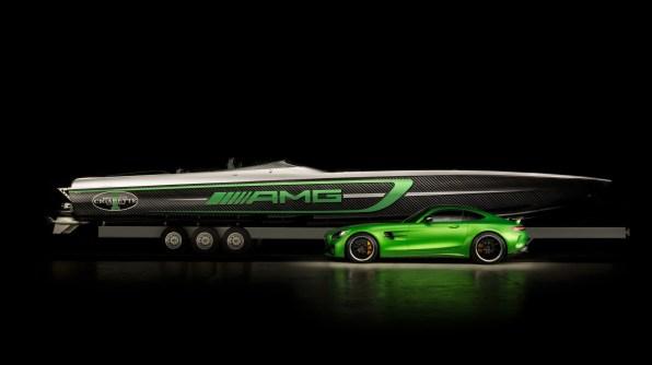 Mercedes-AMG GT R je dobil vodno različico.