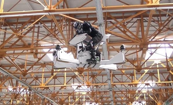 Leteči motocikel Hoverbike Scorpion 3
