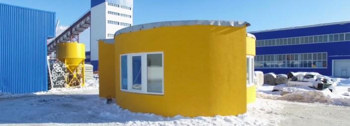 Prva stanovanjska hiša, natisnjena s 3D-tiskalnikom