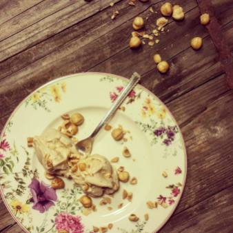 TaStrletov domači sladoled: lešnikov sladoled