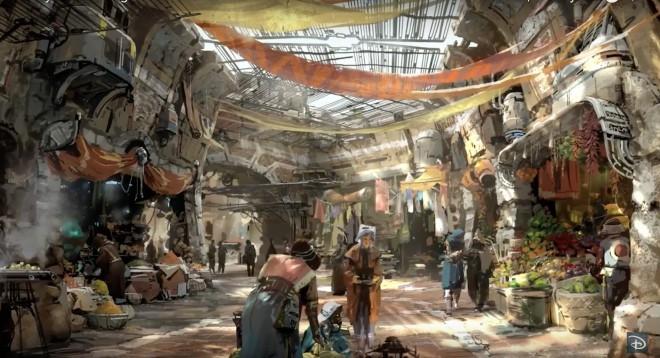 Zabaviščni park Star Wars Land bo imel maroški pridih.