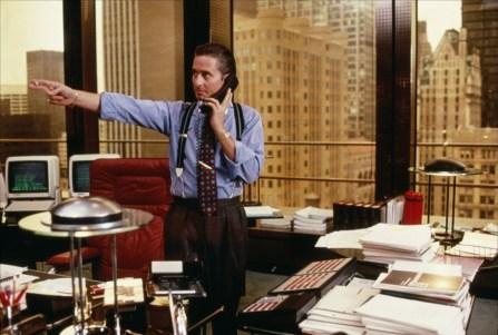 Gordon Gekko (Wall Street, 1987)