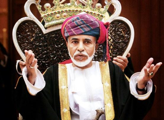 10. Omanski sultan Qaboos bin Said al Said