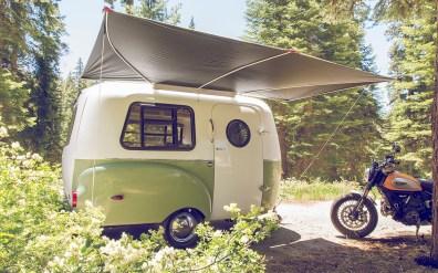 Ta izgleda priročna integrirana tenda!