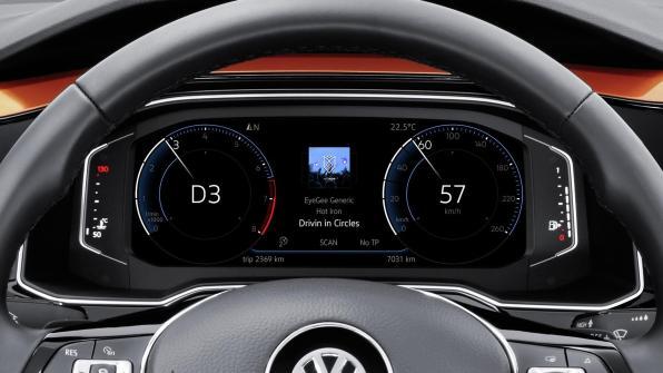 Notranjost novega Volkswagen Pola