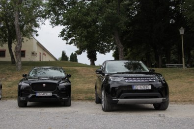 Land Rover Discovery in f-pace